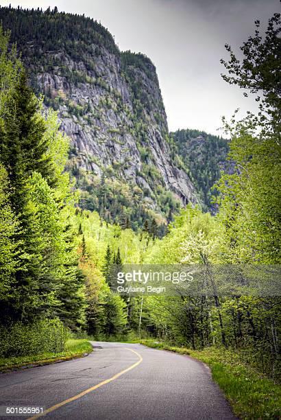 La route du Saguenay