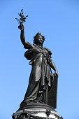 Statue de la place de la République à Paris