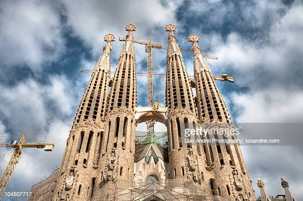 La Sagrada Familia Towers