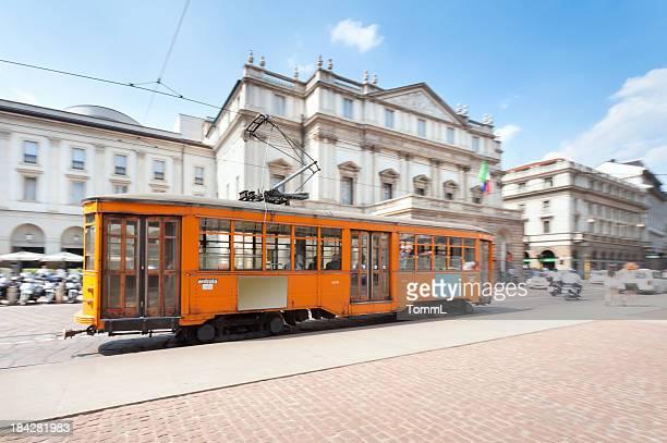 La Scala e Tram, Milano