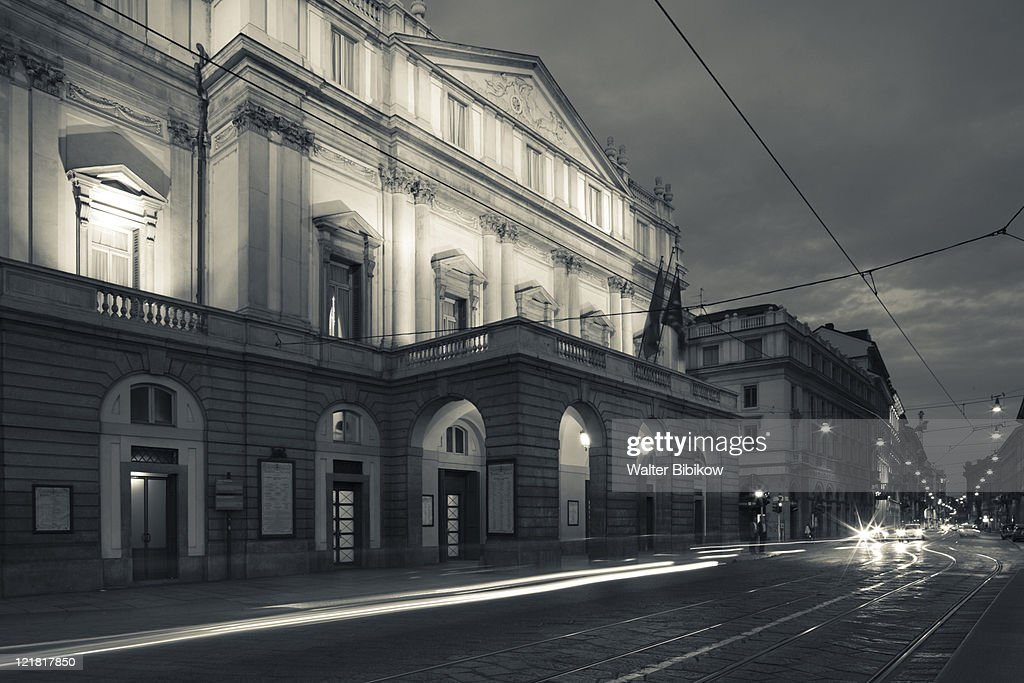 La Scala Opera House, Teatro alla Scala, Milan, Lombardy, Italy