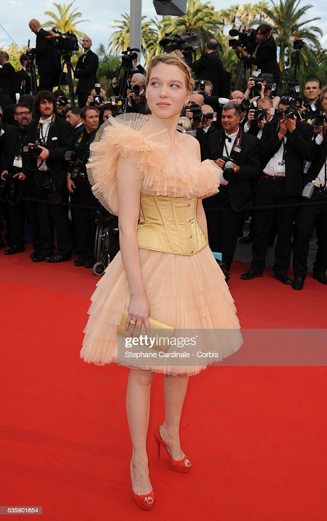 Léa Seydoux at the premiere of ?Robin Hood? during the 63rd Cannes International Film Festival.