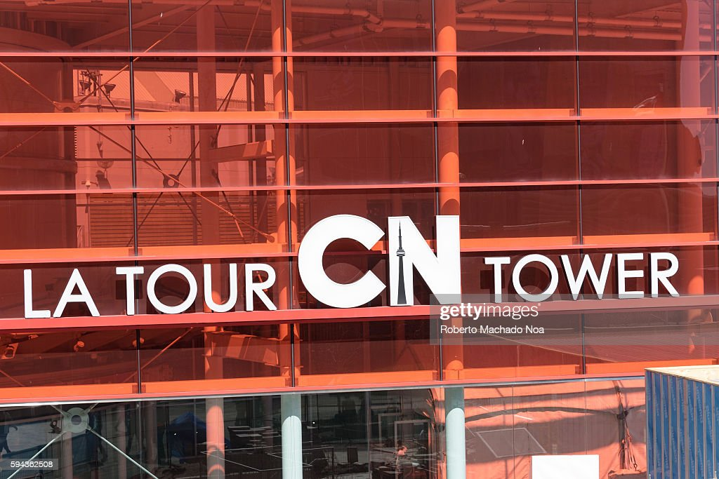 La Tour CN tower a major tourist attraction in Toronto The CN Tower is a 55333 meter high concrete communications and observation tower in Downtown...