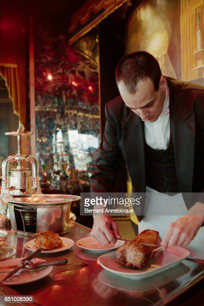 La Tour d'Argent restaurant in Paris serves its millionth duck The famous restaurant is known for its roast 'caneton' which is prepared according to...