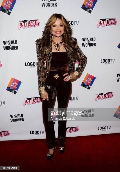 La Toya Jackson arrives at 'Rupaul's Drag Race' Season 5 Finale Reunion Coronation Taping on May 1 2013 in North Hollywood California