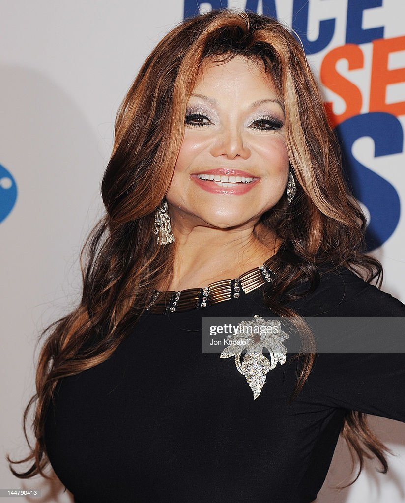 La Toya Jackson arrives at the 19th Annual Race To Erase MS Event at the Hyatt Regency Century Plaza on May 18, 2012 in Century City, California.