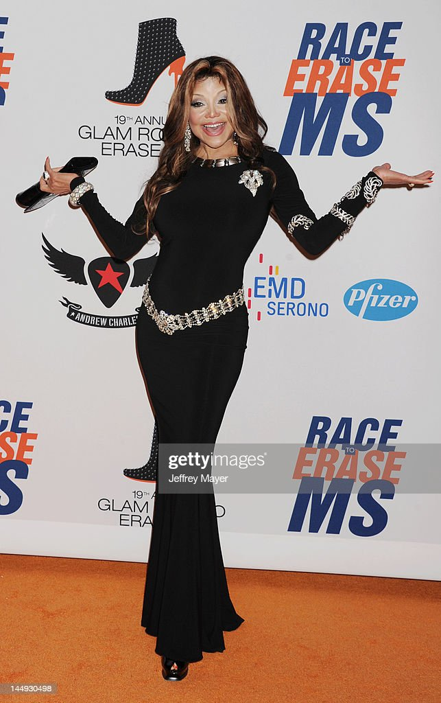 La Toya Jackson attends 19th Annual Race To Erase MS Event at the Hyatt Regency Century Plaza on May 18, 2012 in Century City, California.