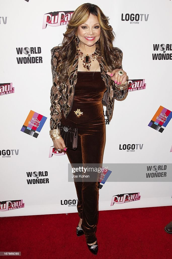 La Toya Jackson attends 'RuPaul's Drag Race' Season 5 Finale, Reunion & Coronation Taping on May 1, 2013 in North Hollywood, California.