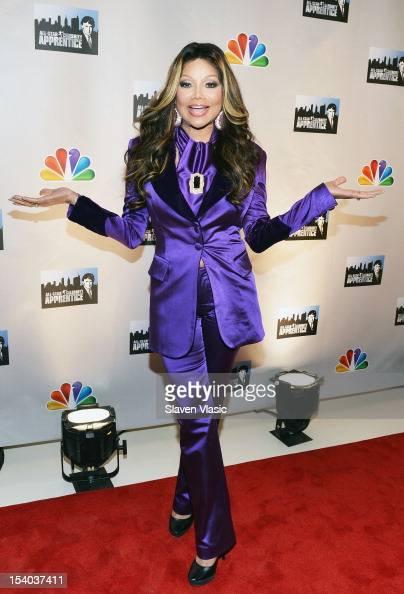 La Toya Jackson attends the 'Celebrity Apprentice All Stars' Season 13 Press Conference at Jack Studios on October 12 2012 in New York City