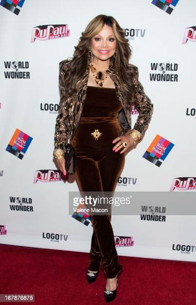 La Toya Jackson attends the Finale Reunion Coronation Taping Of Logo TV's 'RuPaul's Drag Race' Season 5 on May 1 2013 in North Hollywood California