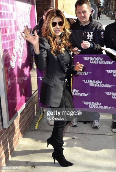 La Toya Jackson visits Wendy Williams Show at Streets of Manhattan on February 23 2012 in New York City