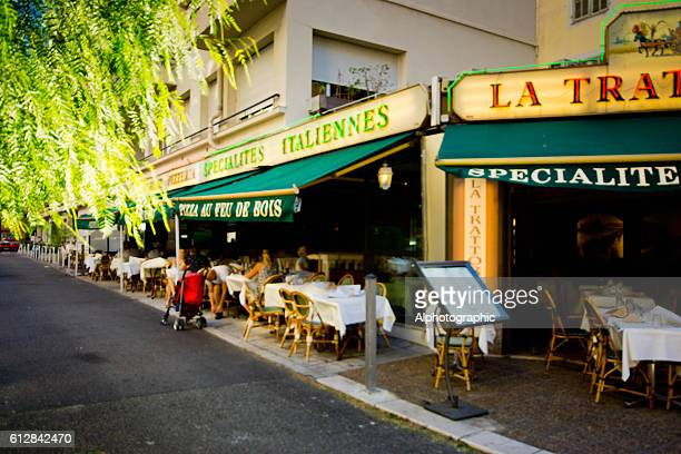 La Trattoria French pavement cafe