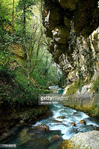 La valle dell'Orfento