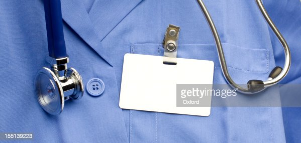 Lab Coat with ID
