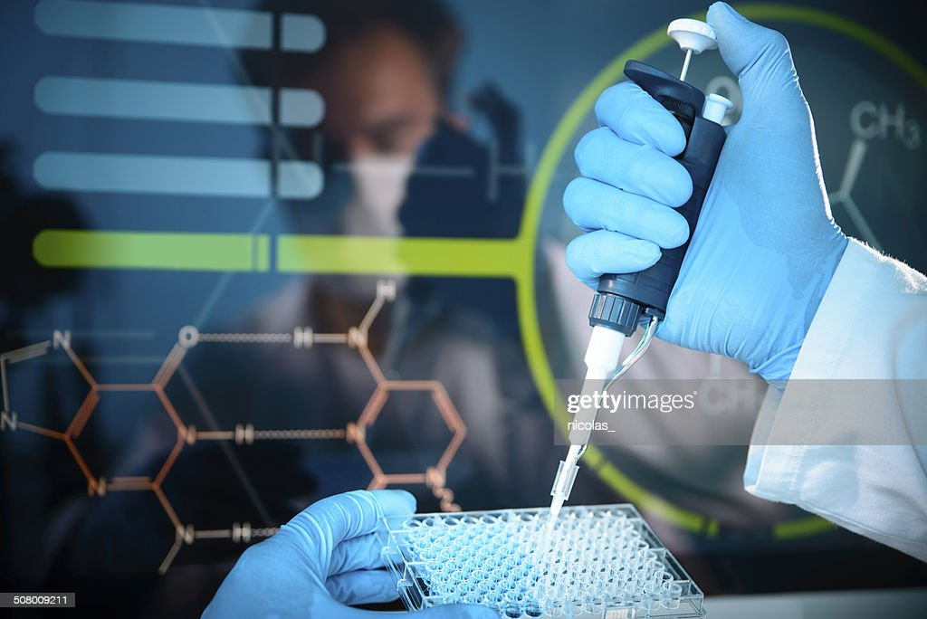 Lab Experiment : Stock Photo