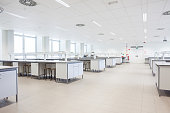 university lab study room for scientes in a large building
