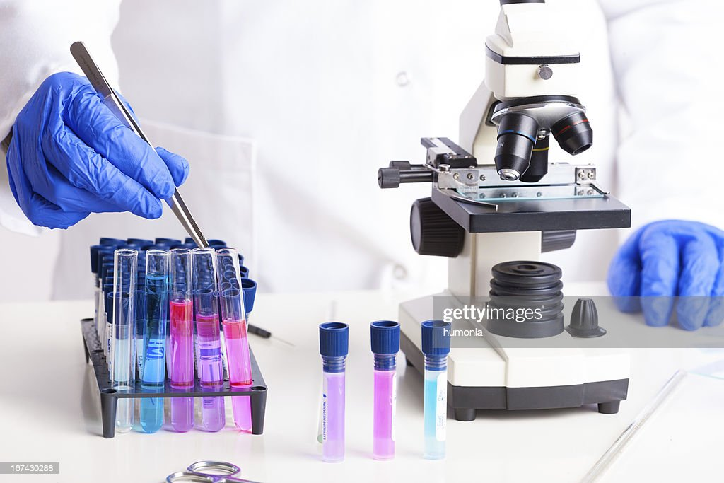 Laboratory equipment : Stock Photo