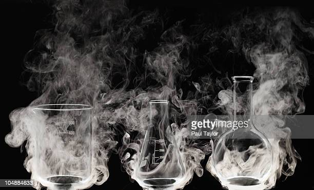 Laboratory glassware with Vapor