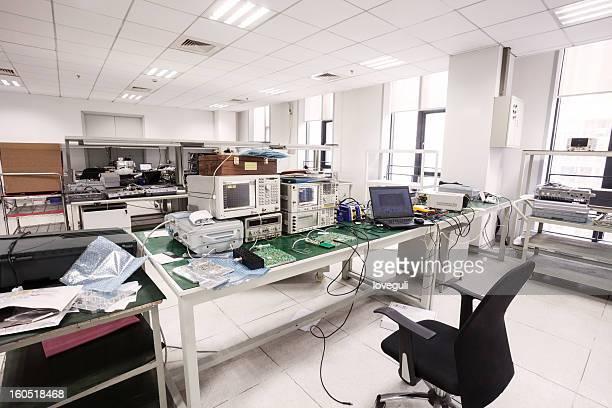 Intérieur du laboratoire