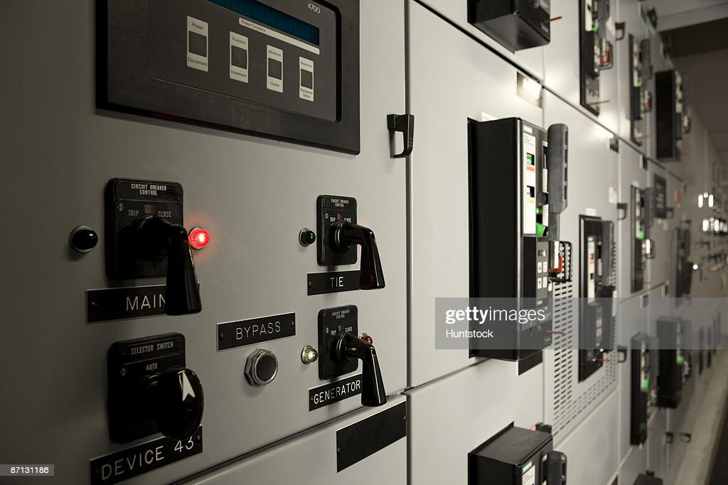Laboratory with circuit breaker controls