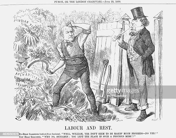 'Labour and Rest' 1880 Disraeli Earl of Beaconsfield is the former Conservative Prime Minister recently beaten in the 1880 General Election The new...