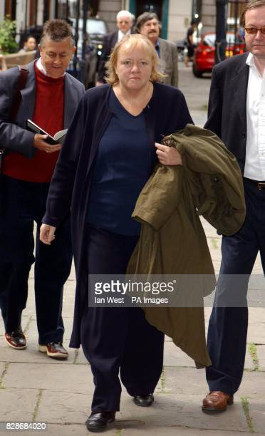 Labour backbencher Mo Mowlam arrives for memorial service at St Paul's Church in London's Covent Garden to celebrate the life of sixties legend...