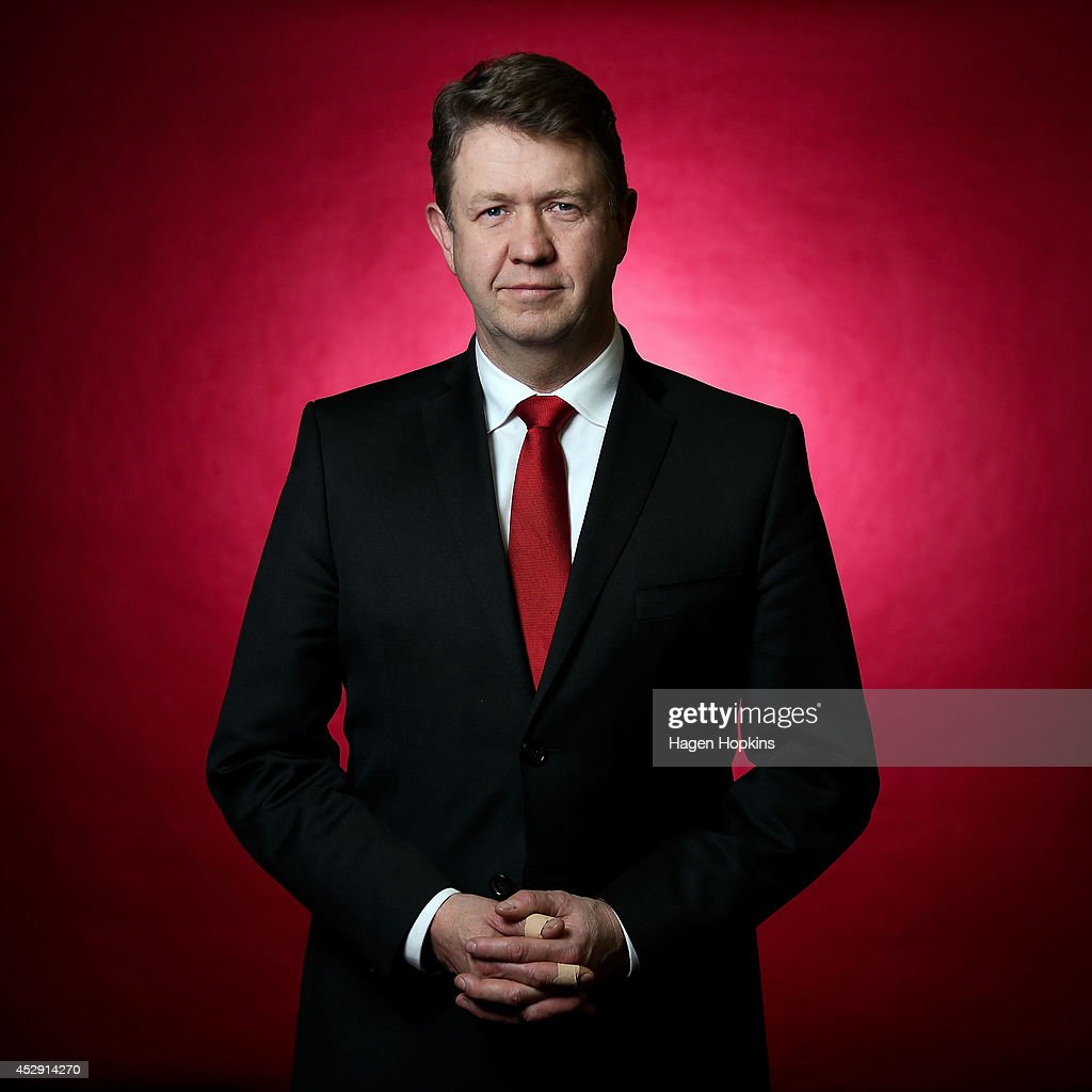 Labour leader <a gi-track='captionPersonalityLinkClicked' href=/galleries/search?phrase=David+Cunliffe&family=editorial&specificpeople=707125 ng-click='$event.stopPropagation()'>David Cunliffe</a> poses during a portrait session at Parliament on July 30, 2014 in Wellington, New Zealand. New Zealanders will head to the polls on September 20 for the 2014 General Election to determine the membership of the 51st New Zealand Parliament.
