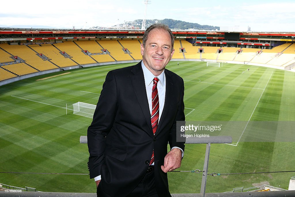 Labour leader David Shearer poses in front of empty seating to put into context the number of New Zealanders who have left to live in Australia since 2008 at Westpac Stadium on December 6, 2012 in Wellington, New Zealand. According to Labour's calculations, today will see the 50,000th New Zealander this year board a plane with a one-way ticket for a new life in Australia.