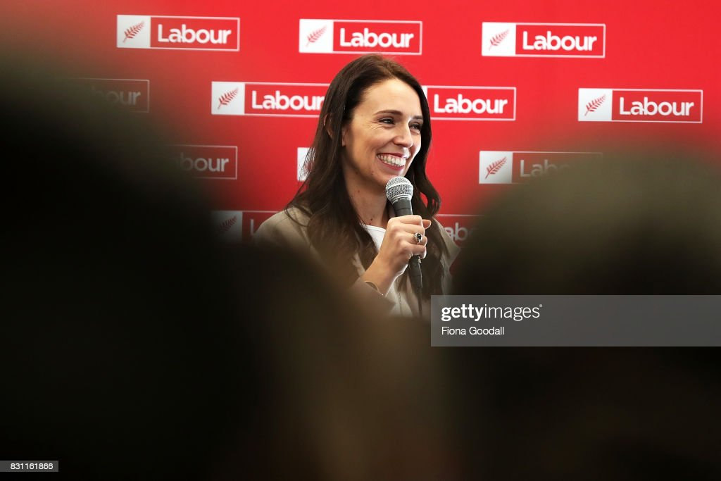 Jacinda Ardern Announces Labour's Education Policy