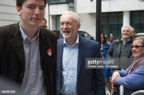 Labour leader Jeremy Corbyn arriving at BBC Broadcasting House in London ahead of an appearance on the Jeremy Vine show on Radio 2