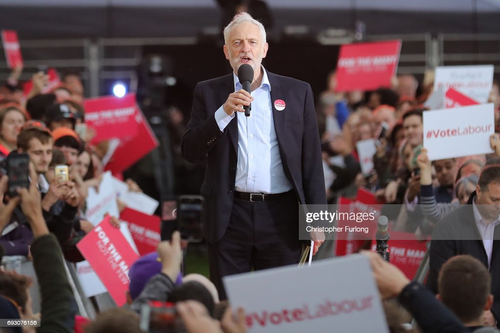 Jeremy Corbyn Campaigns In The West Midlands : News Photo