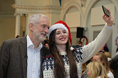 GBR: Jeremy Corbyn Shares Christmas Lunch With Homelessness Activists
