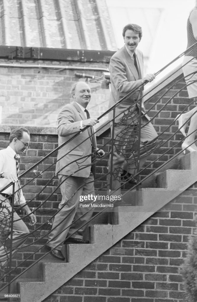 Labour leader <a gi-track='captionPersonalityLinkClicked' href=/galleries/search?phrase=Neil+Kinnock&family=editorial&specificpeople=178980 ng-click='$event.stopPropagation()'>Neil Kinnock</a> with <a gi-track='captionPersonalityLinkClicked' href=/galleries/search?phrase=Peter+Mandelson&family=editorial&specificpeople=213202 ng-click='$event.stopPropagation()'>Peter Mandelson</a> at the NUS Clapham for a Labour Party meeting, 26th July 1990.