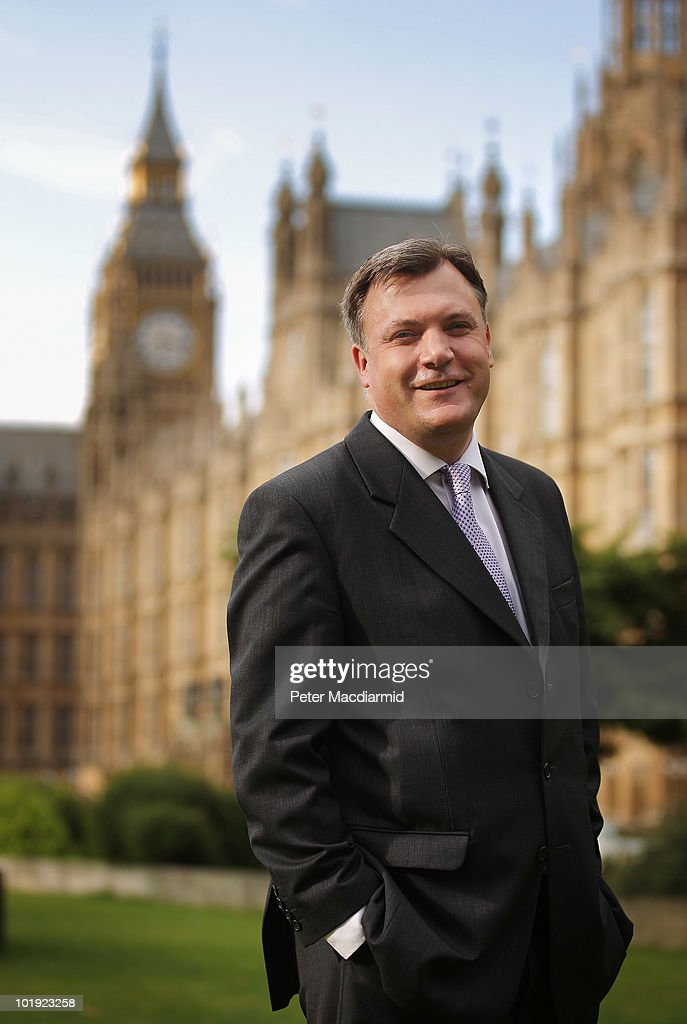 Labour leadership candidate <a gi-track='captionPersonalityLinkClicked' href=/galleries/search?phrase=Ed+Balls&family=editorial&specificpeople=3244683 ng-click='$event.stopPropagation()'>Ed Balls</a> poses for photographers near Parliament on June 9, 2010 in London, England. A ballot will be taken of Labour party, trade union members, MPs and MEPs to select the next leader of the labour party from shortlist of: Diane Abbott, <a gi-track='captionPersonalityLinkClicked' href=/galleries/search?phrase=Ed+Balls&family=editorial&specificpeople=3244683 ng-click='$event.stopPropagation()'>Ed Balls</a>, Andy Burnham, David Miliband and Ed Miliband. The result of the ballot is due to be announced during Labour party conference on September 25, 2010.