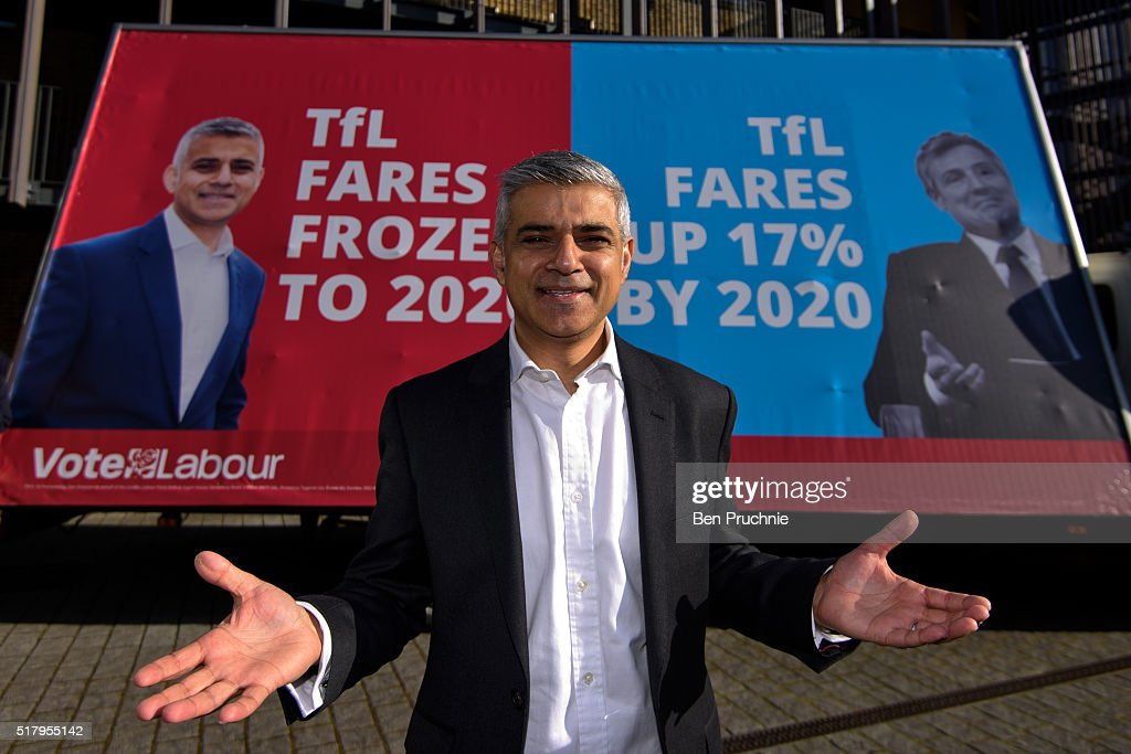 Labour London Mayor Candidate Launches Poster Campaign