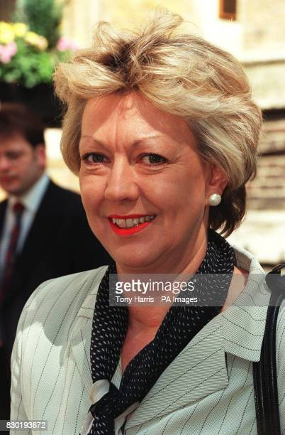 Labour MP for Rossendale and Darwen Janet Anderson 6/6/99 The Government minister responsible for pop music has denied breaking antisleaze rules by...