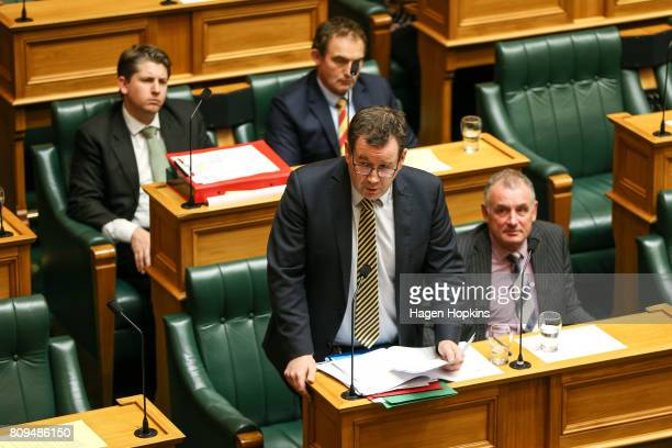 Labour MP Grant Robertson responds after a formal apology by the government at Parliament on July 6 2017 in Wellington New Zealand The formal apology...