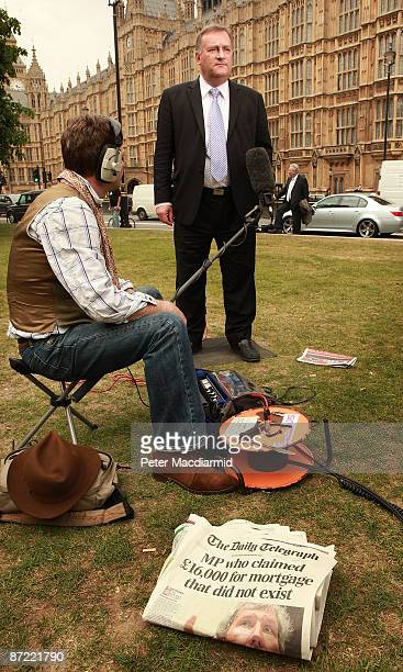 Labour Party Chief Whip Nick Brown talks to reporters on May 14 2009 outside Parliament in London The Daily Telegraph has run seven days of stories...