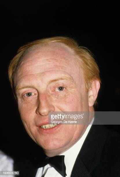 Labour Party leader Neil Kinnock attends the British Record Industry Awards aka the BRIT Awards at the Grosvenor House Hotel in London on February 11...