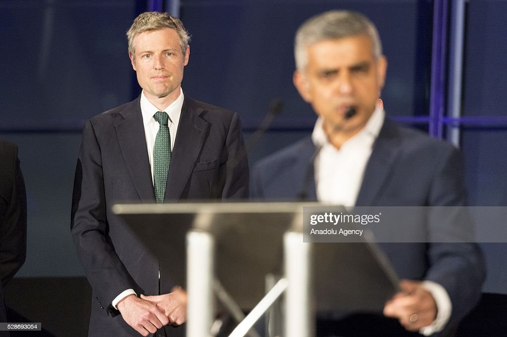Labour Party mayoral candidate Sadiq Khan delivers a speech after Khan is announced as the new mayor of London after votes had been calculated at City Hall in London, Britain, 06 May 2016. Khan becomes London's first muslim mayor.