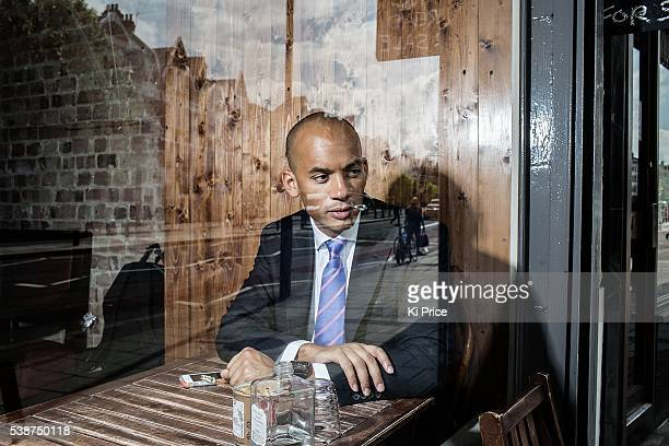 Labour party politician Chuka Umunna is photographed for the Times on May 16 2014 in London England