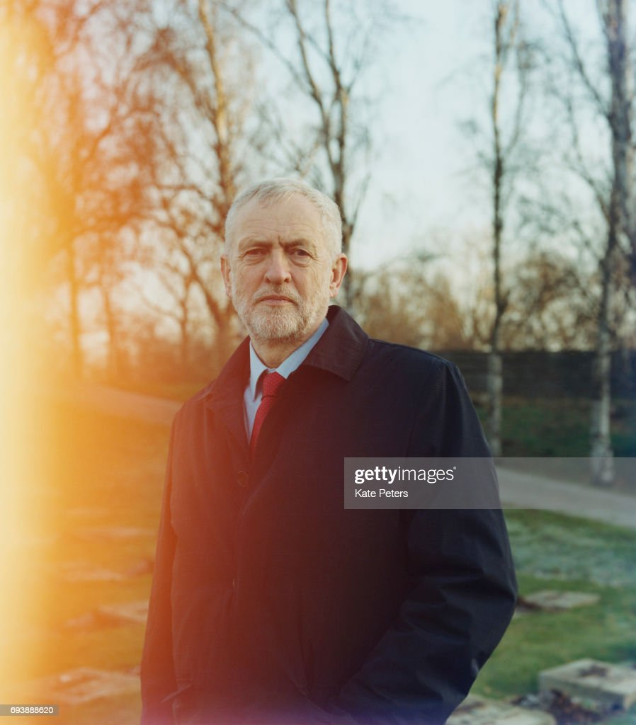UK Labour Party politician Jeremy Corbyn is photographed on December 3, 2016 in Prague, Czech Republic.