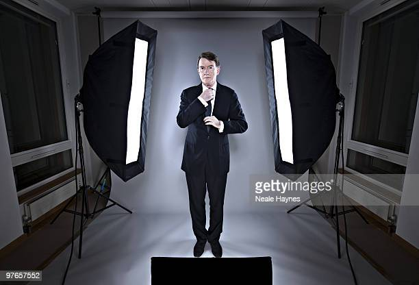 Labour politician Peter Mandelson poses for a portrait shoot in London December 16 2009