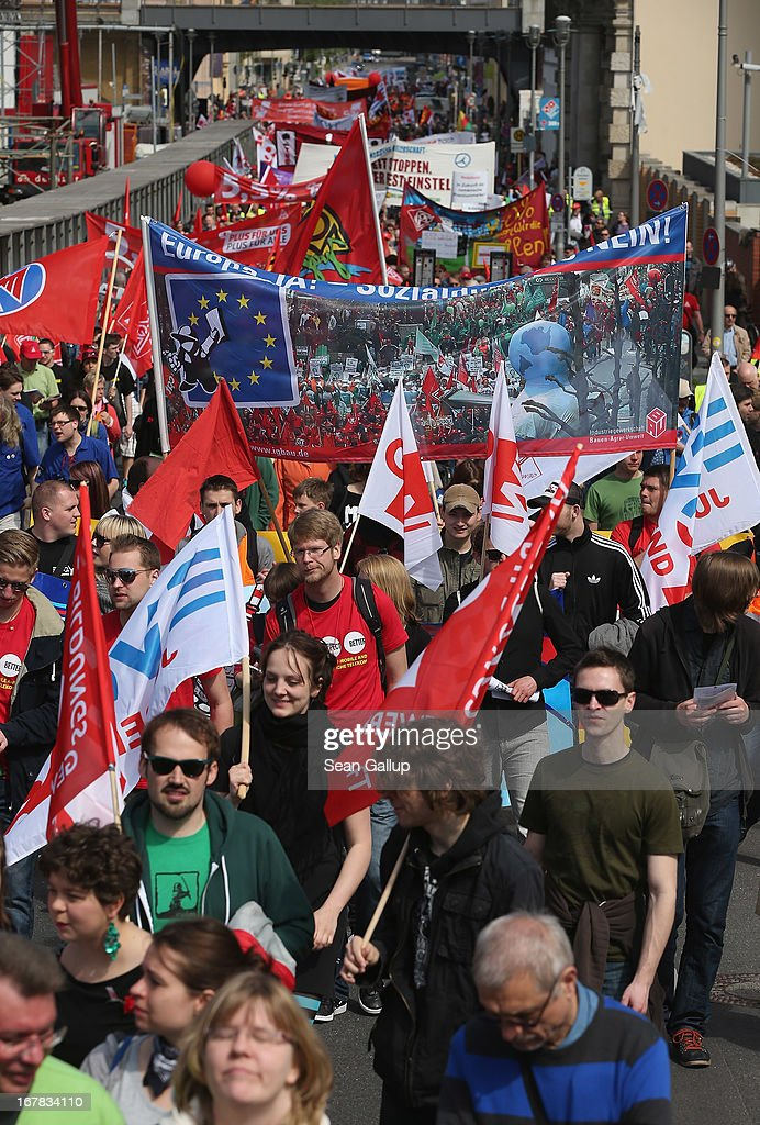 May Day In Germany Getty Images