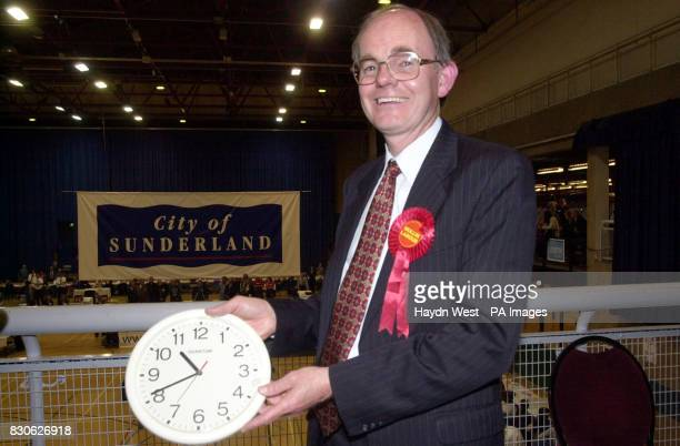 Labour's Chris Mullin who became the first MP in the new House of Commons after he won the Sunderland South seat in the 2001 General Election with a...