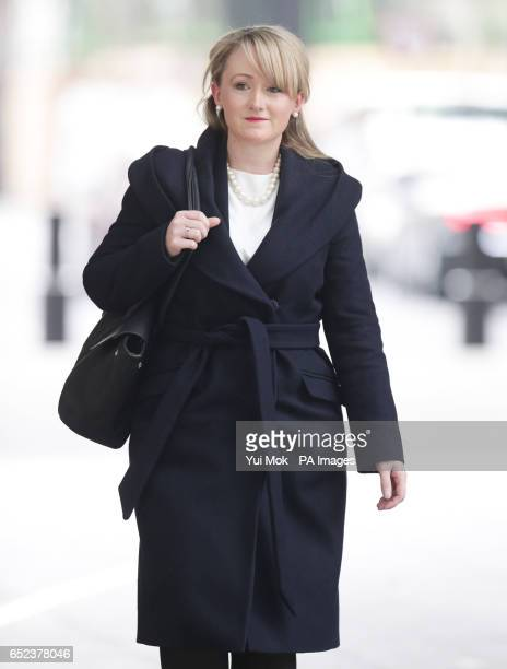 Labour's Shadow Business Secretary Rebecca LongBailey arrives at BBC Broadcasting House in London to appear on The Andrew Marr Show