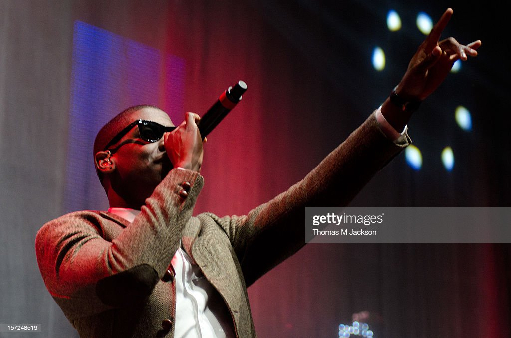 <a gi-track='captionPersonalityLinkClicked' href=/galleries/search?phrase=Labrinth+-+Musician&family=editorial&specificpeople=7211457 ng-click='$event.stopPropagation()'>Labrinth</a> performs onstage at Metro Radio Live 2012 at Metro Radio Arena on November 30, 2012 in Newcastle upon Tyne, England.