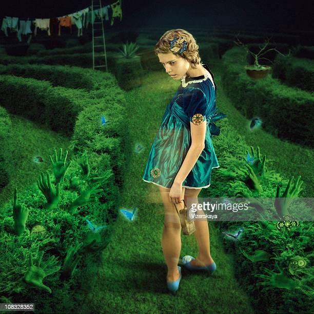 Labyrinthe. La nuit verte.