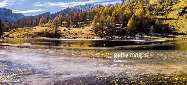 Lac des Gernouilles, Mercantour, automne