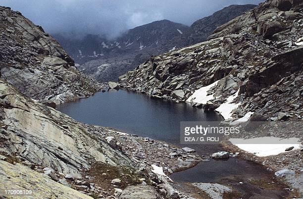 Lac des Mesches Vallee des Merveilles Mercantour National Park ProvenceAlpesCote d'Azur France